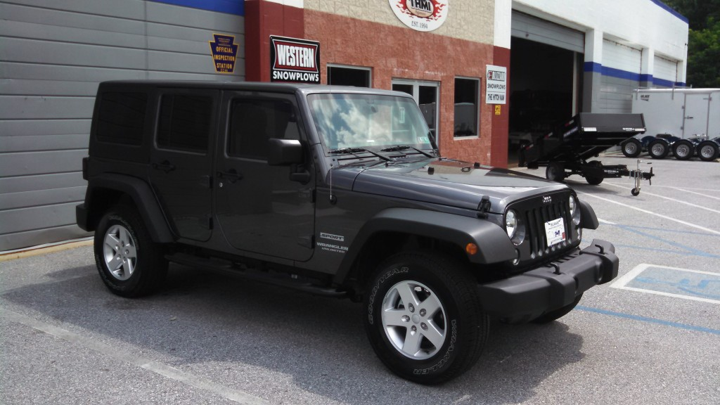 2014 Jeep Nerf bars Westin 4in oval